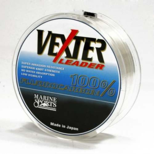 Linha Fluorcarbono Vexter Leader 0,47mm 28,66lb/13kg - 50 Metros  - Life Pesca - Sua loja de Pesca, Camping e Lazer
