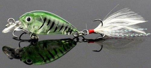 Kit 5 Mini Iscas Artificiais Tilápias Trairás Bass Trutas  - Life Pesca - Sua loja de Pesca, Camping e Lazer