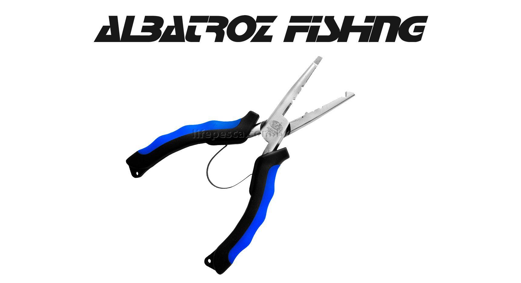 """Alicate De Bico Niquel QZ601 6"""" - Albatroz Fishing   - Life Pesca - Sua loja de Pesca, Camping e Lazer"""
