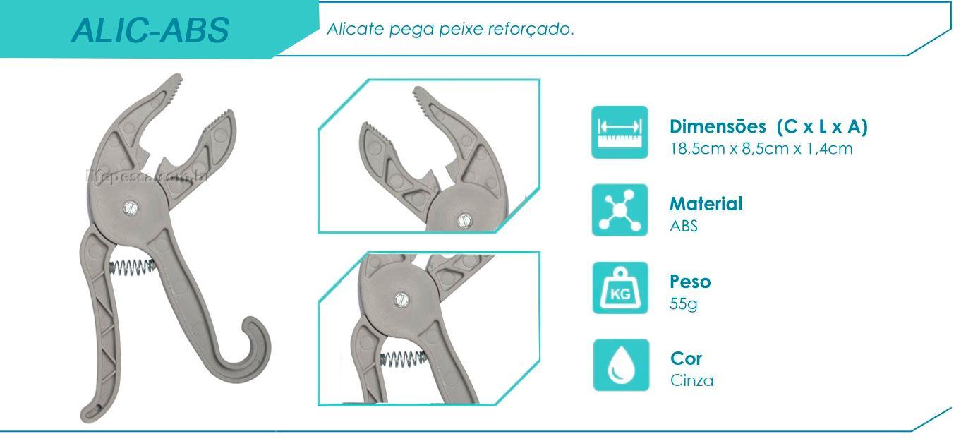 Alicate Hi - Pega Peixe em ABS - Reforçado  - Life Pesca - Sua loja de Pesca, Camping e Lazer