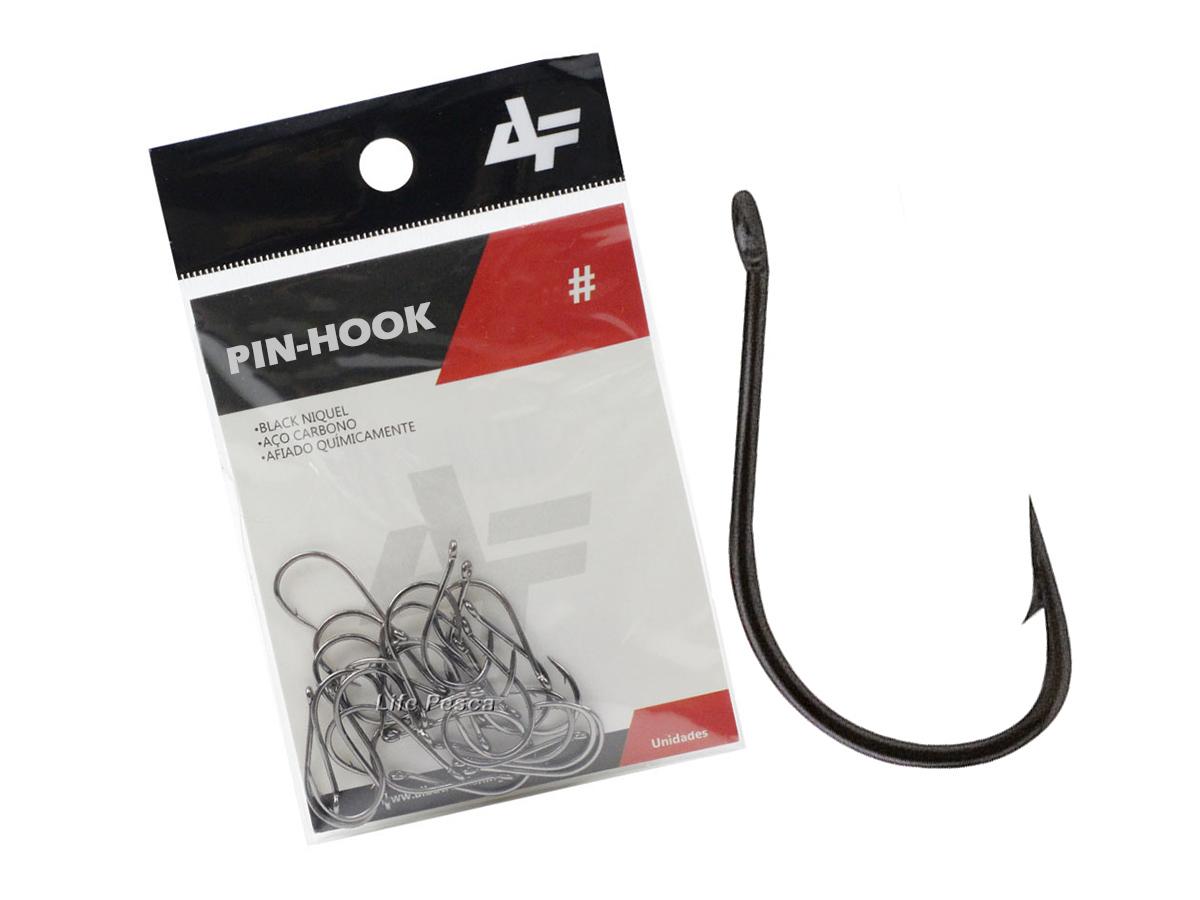 Anzol Albatroz Pin-Hook Nº 12 - Cartela C/ 30 Peças