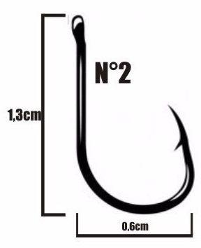 Anzol Chinu Nº 2 Nickel - Marine Sports - 100 Peças  - Life Pesca - Sua loja de Pesca, Camping e Lazer