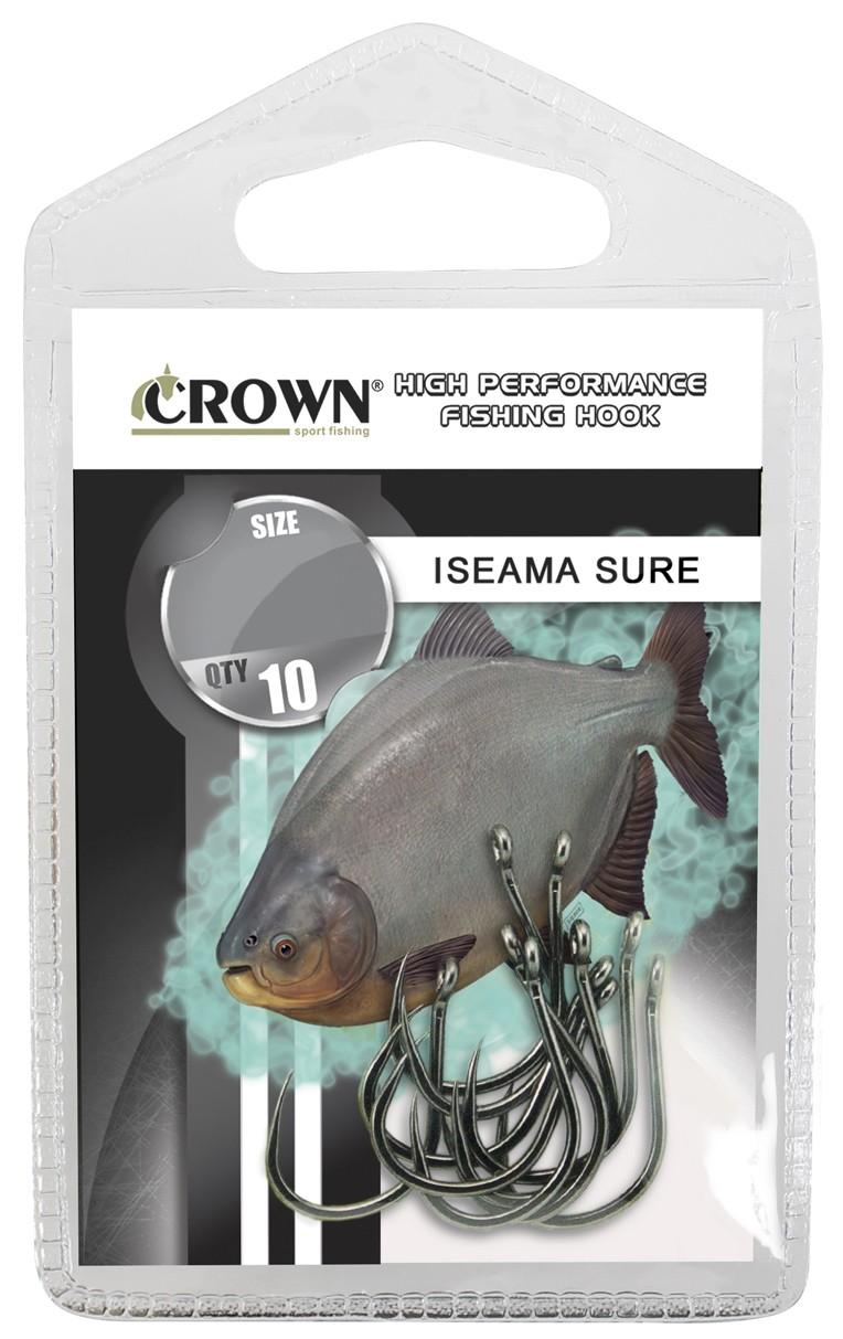 Anzol Crown Iseama Sure Black Nº 9 - 10 Peças  - Life Pesca - Sua loja de Pesca, Camping e Lazer