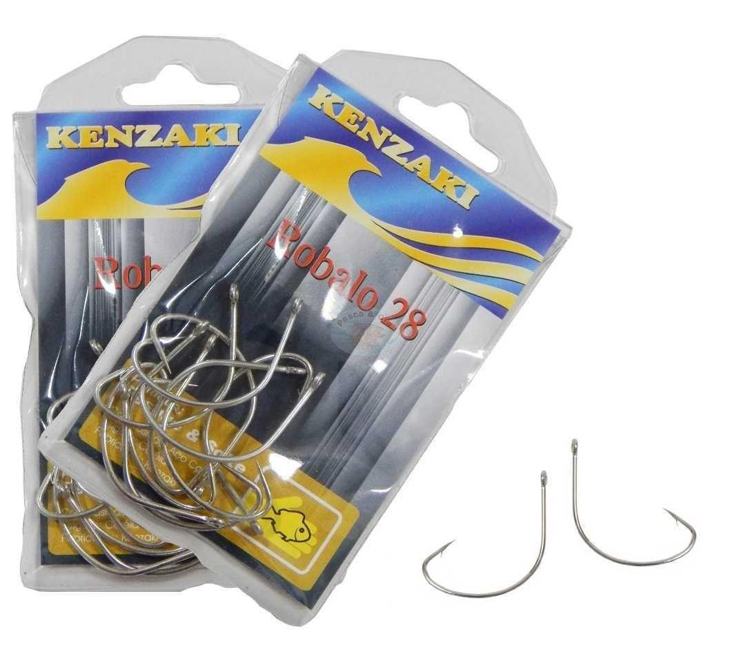 Anzol Kenzaki Robalo 22 - 10 Peças   - Life Pesca - Sua loja de Pesca, Camping e Lazer