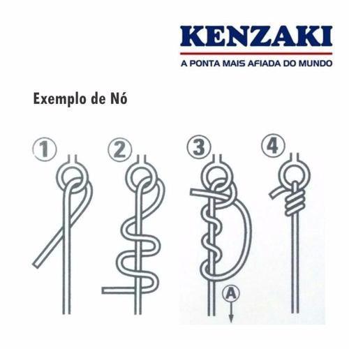Anzol Kenzaki Maruseigo Red Nº 22 - 10 Peças  - Life Pesca - Sua loja de Pesca, Camping e Lazer