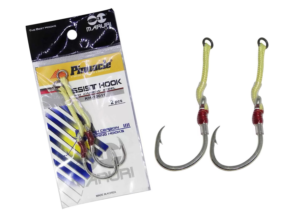 Anzol Pinnacle Assist Hook KH -10011 (Nº 26) - 2 Peças