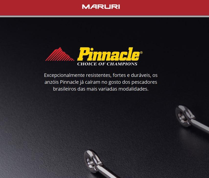 Anzol Pinnacle Pacu Nº 1/0 - 25 Peças  - Life Pesca - Sua loja de Pesca, Camping e Lazer