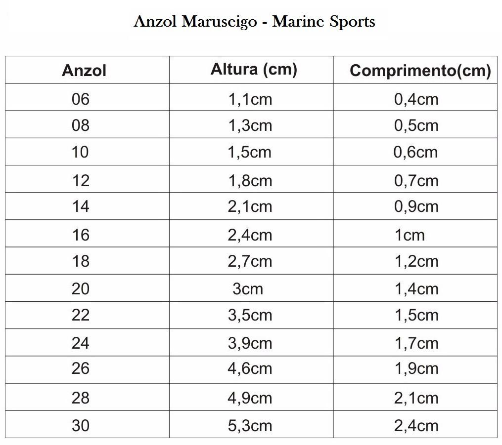 Anzol Super Maruseigo Nº10 Black Nickel - Marine Sports - 50 Peças  - Life Pesca - Sua loja de Pesca, Camping e Lazer