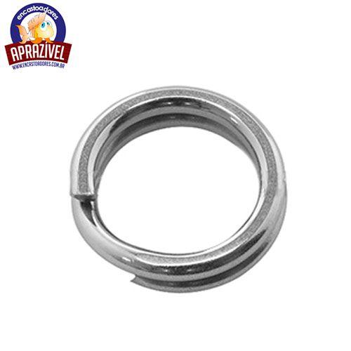 Argola Split Ring N° 4 Fio 16 (8mm) - Aprazível - 20 Peças