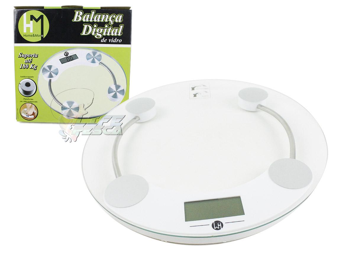 Balança Digital de Banheiro HM - Até 180kg