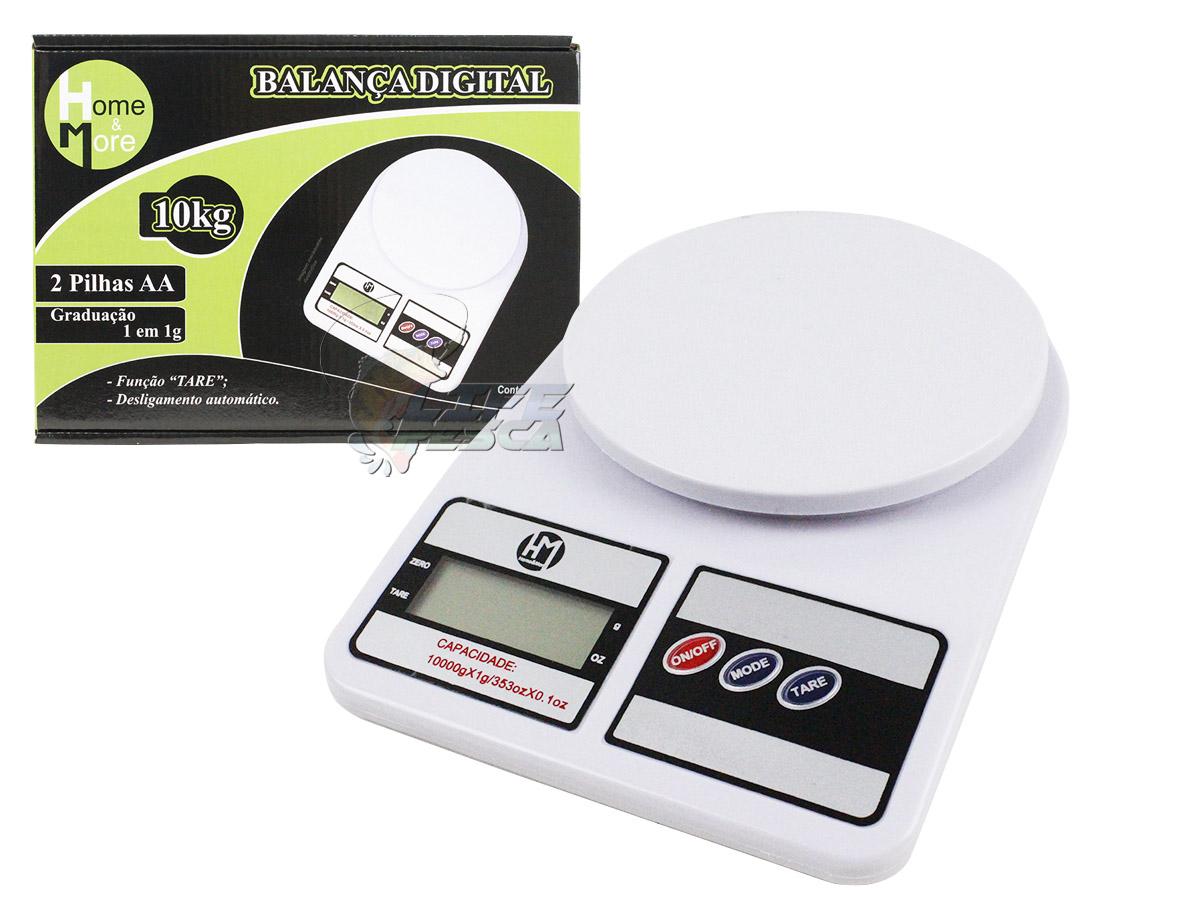 Balança Digital HM até 10kg - 1 Peça