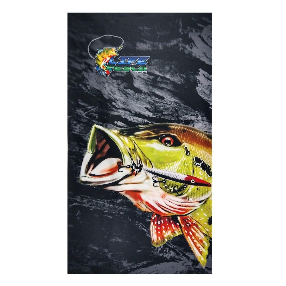 Bandana Life Pesca Proteção Solar UV FPS 50+ Vários Modelos