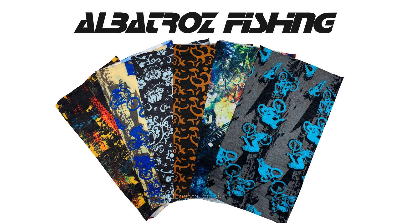 Bandana Top Skin Stylus - Albatroz Fishing - Várias Cores