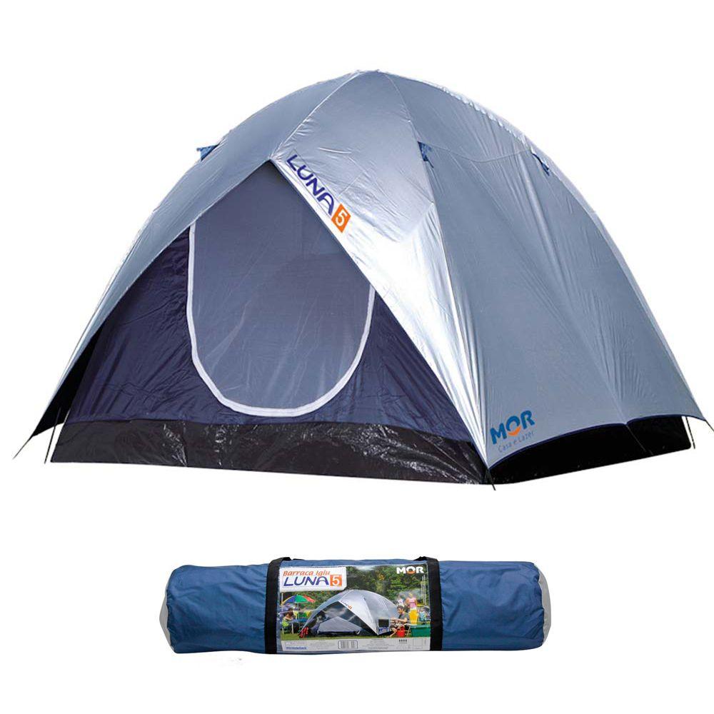 Barraca Luna Camping Para Até 5 Pessoas - Mor