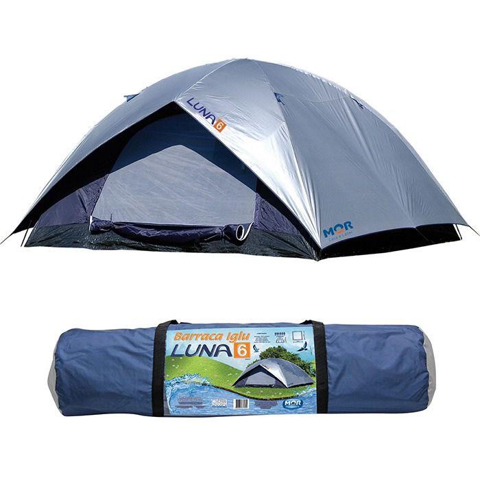 Barraca Luna Camping Para Até 6 Pessoas - MOR