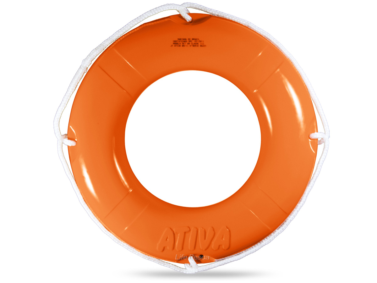 Boia Circular Salva Vidas 60cm Classe III (1,8kg) - Ativa Náutica