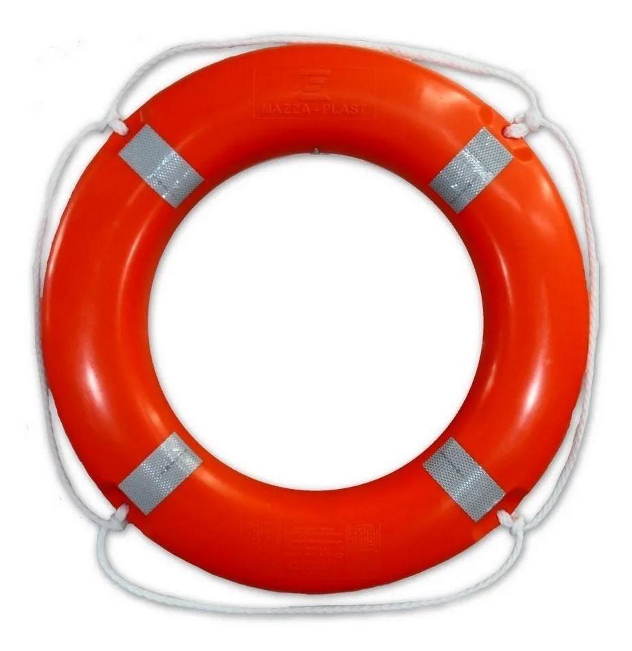 Boia Circular Salva Vidas 70cm 2,5kg Mazza Plast - Classe I