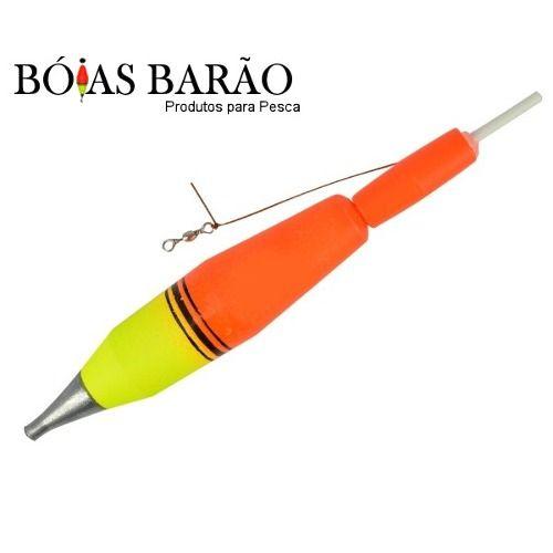 Boia de Arremesso Barão Nº 22 75gr - Várias Cores  - Life Pesca - Sua loja de Pesca, Camping e Lazer