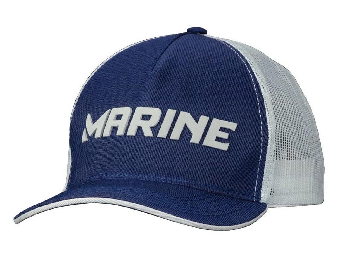 Boné Para Pesca Telado Pescador Azul - Marine Sports