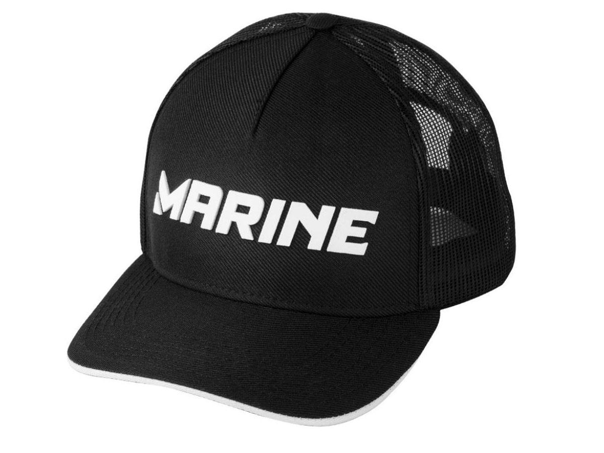 Boné Para Pesca Telado Pescador Preto - Marine Sports