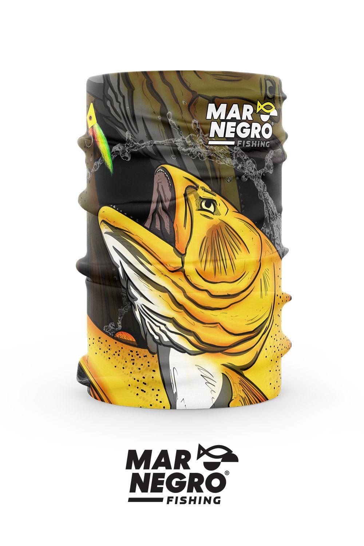 Buff Proteção Solar 50+ UV Mar Negro - Dourado