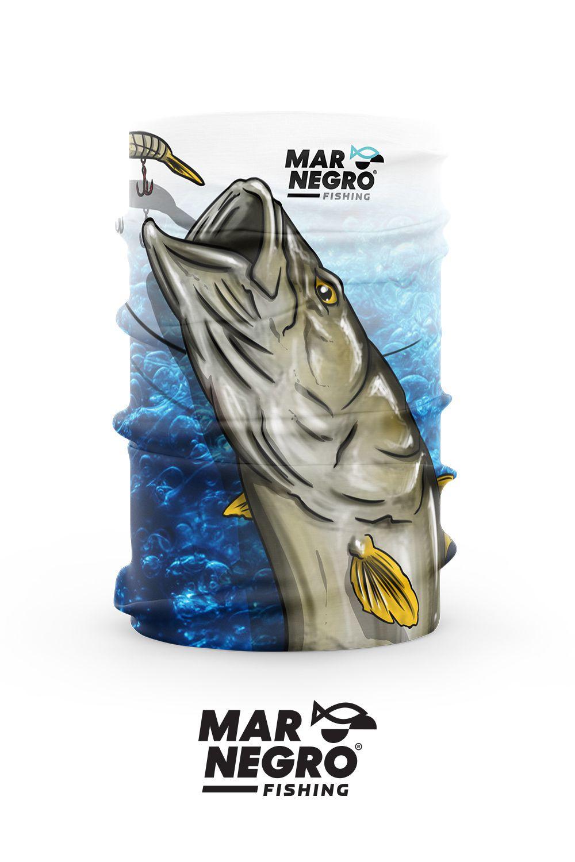 Buff Proteção Solar 50+ UV Mar Negro - Robalo