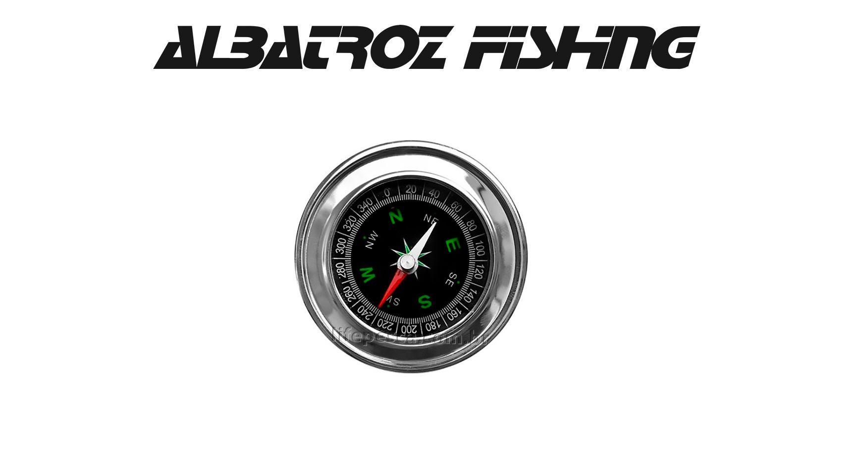 Bússola B01 - Albatroz Fishing  - Life Pesca - Sua loja de Pesca, Camping e Lazer