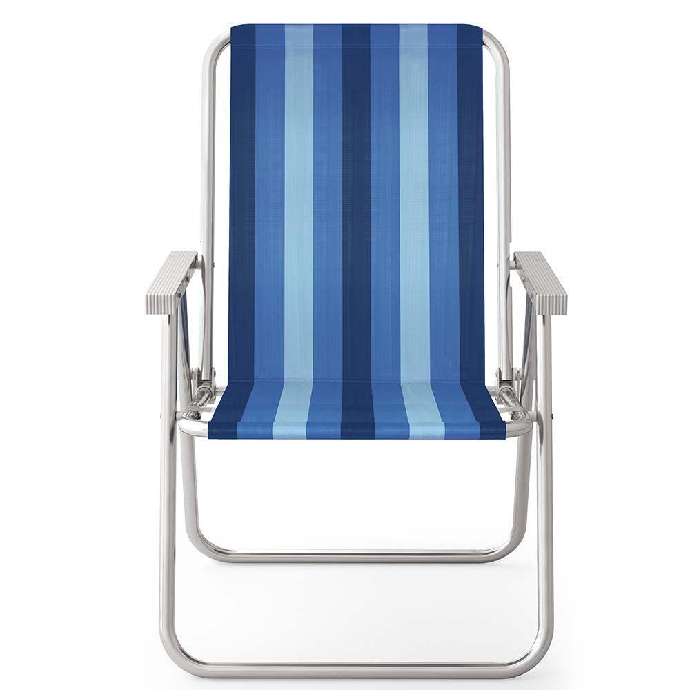 Cadeira Alta Conforto de Alumínio 120kg - Mor