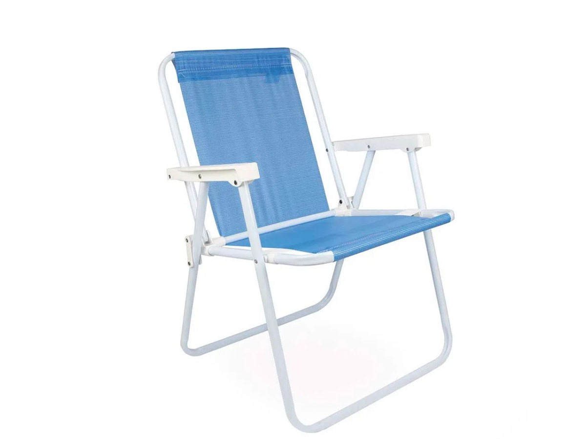 Cadeira Alta Ferro Aço Sannet 110kg - Mor