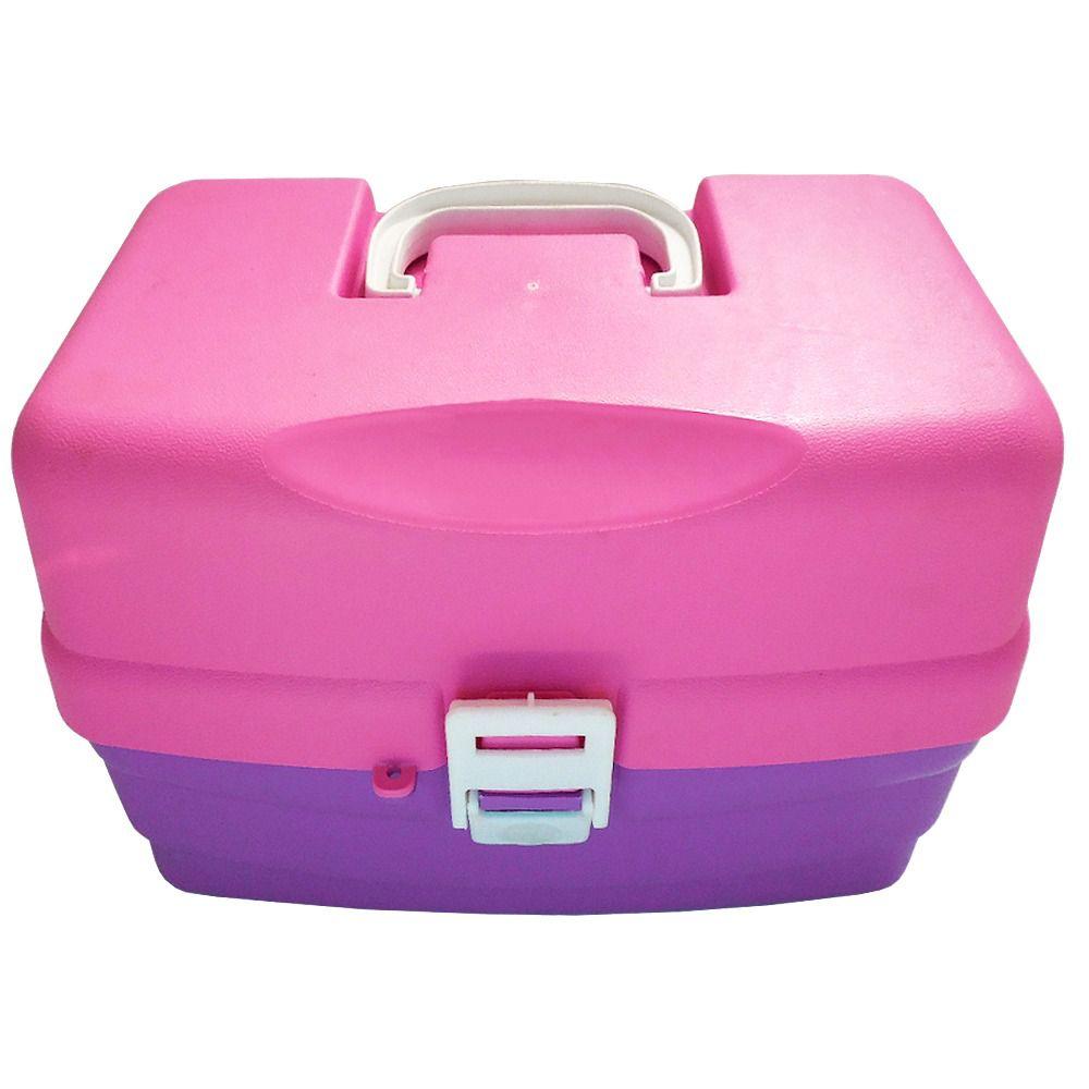 Caixa Rosa CX-Manicure 24 Esmaltes  - Life Pesca - Sua loja de Pesca, Camping e Lazer