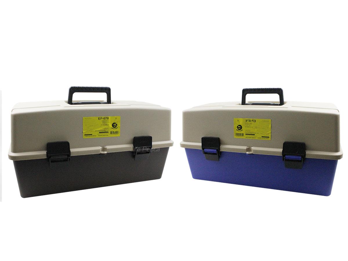 Caixa de Pesca Emifran Amazonas com 2 bandejas + 2 Mini Estojos - EP-070