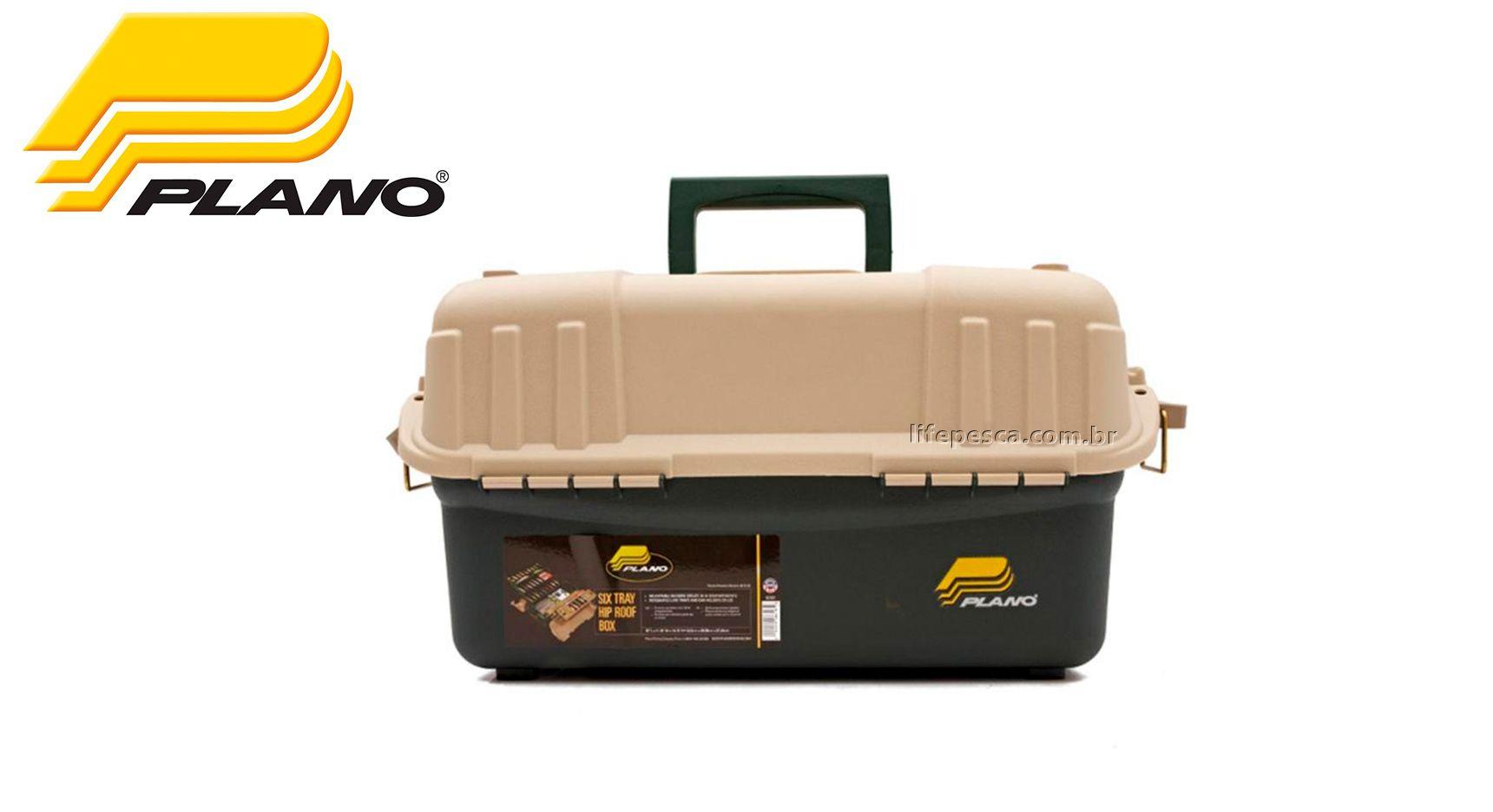 Caixa de Pesca Plano - 6 Bandejas Magnum - 881600