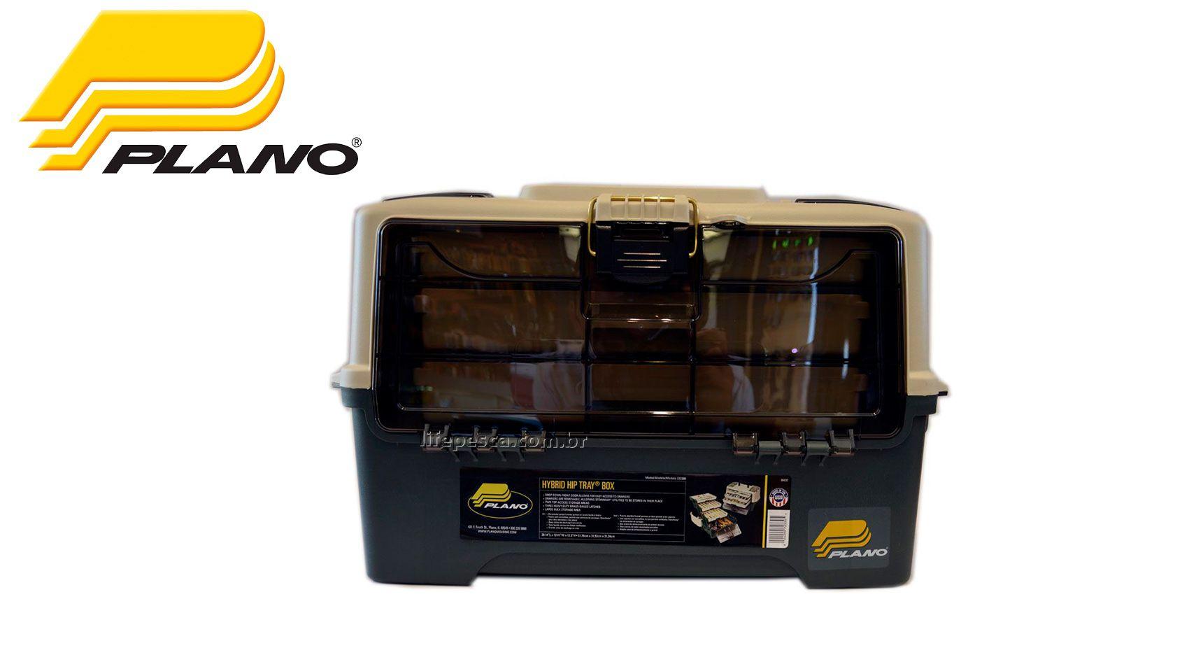 Caixa de Pesca Plano - HY Brid Hip Box Drawer 3 Bandejas de Gavetas  - 723300