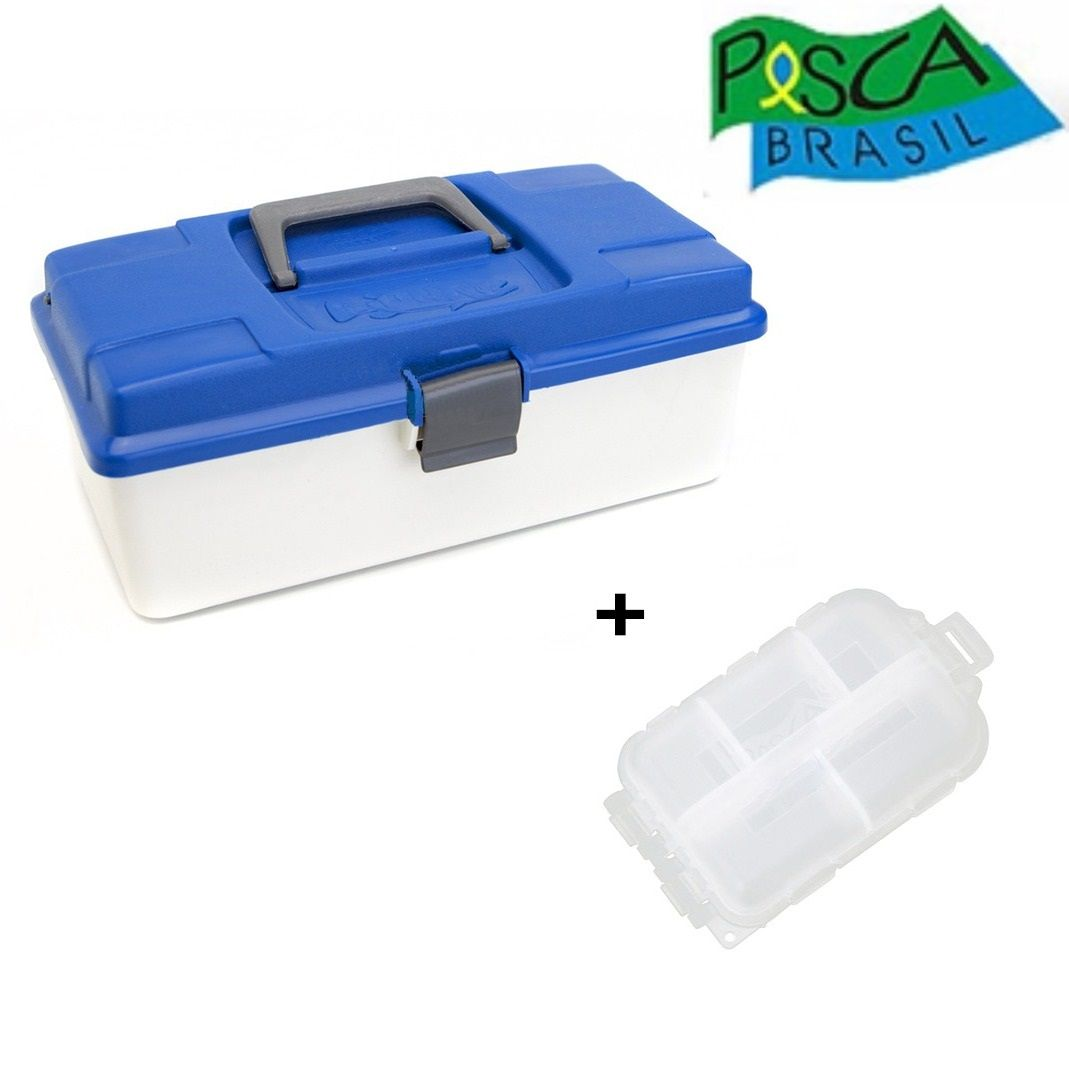 Caixa Pesca Brasil Box 1 - 1 Bandeja  - Life Pesca - Sua loja de Pesca, Camping e Lazer