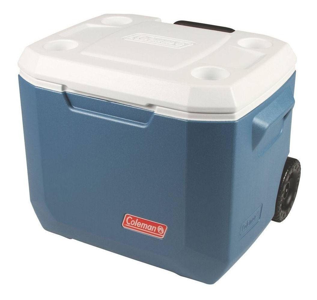 Caixa Térmica Coleman Xtreme 50Qt 47,3 Litros com Rodas - Azul