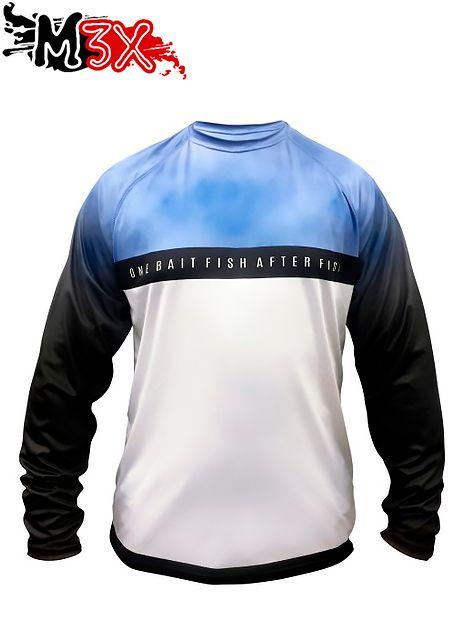 Camiseta de Pesca Proteção Solar Casual Dry 207 - Monster 3X