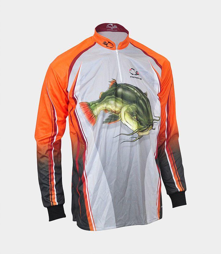 Camiseta de Pesca Faca na Rede Combat S Pirarara