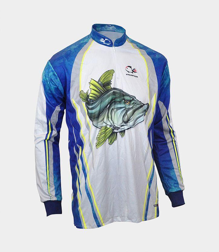 Camiseta de Pesca Faca na Rede Combat S Robalo