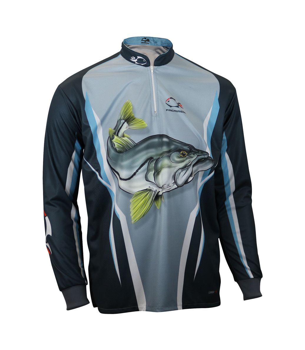 Camiseta de Pesca Proteção Solar Faca na Rede Combat S - Robalo New
