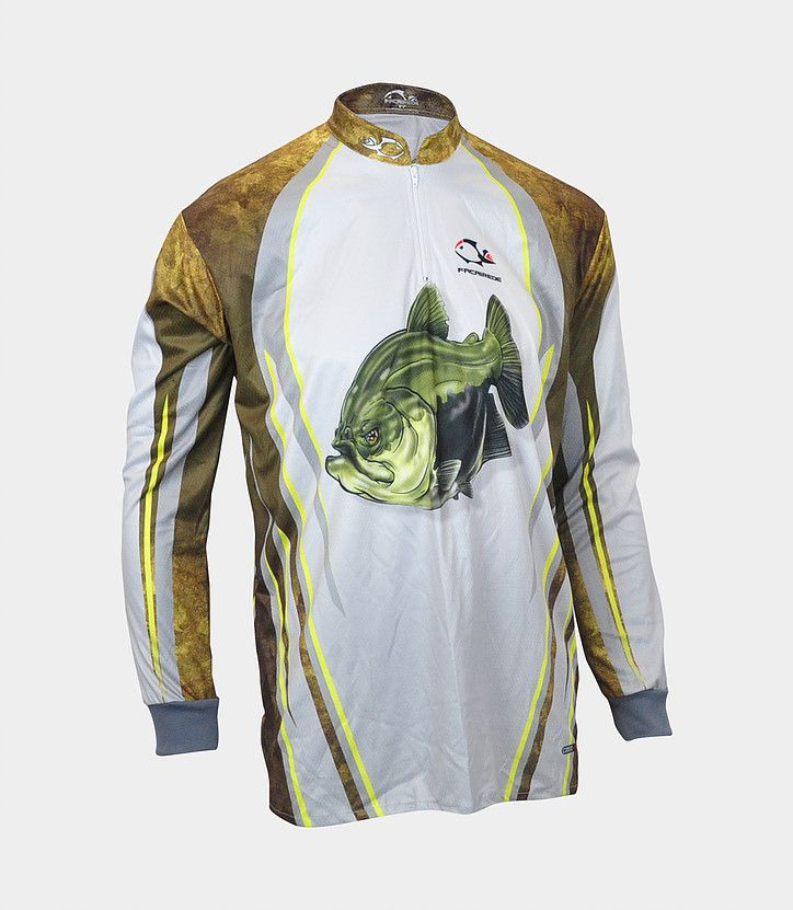 Camiseta de Pesca Faca na Rede Combat S Tambaqui