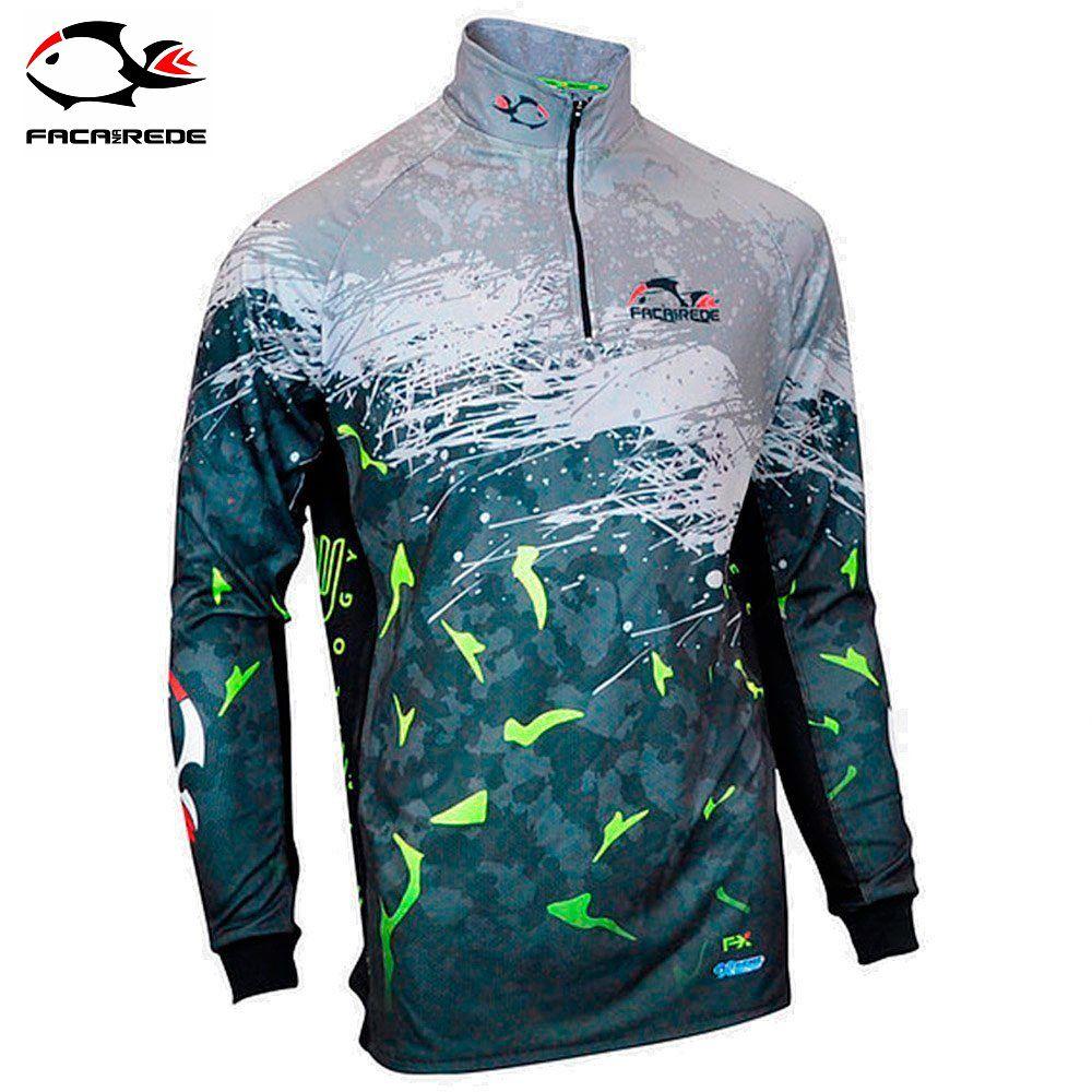Camiseta de Pesca Faca na Rede F-Move X Extreme Dry Evo