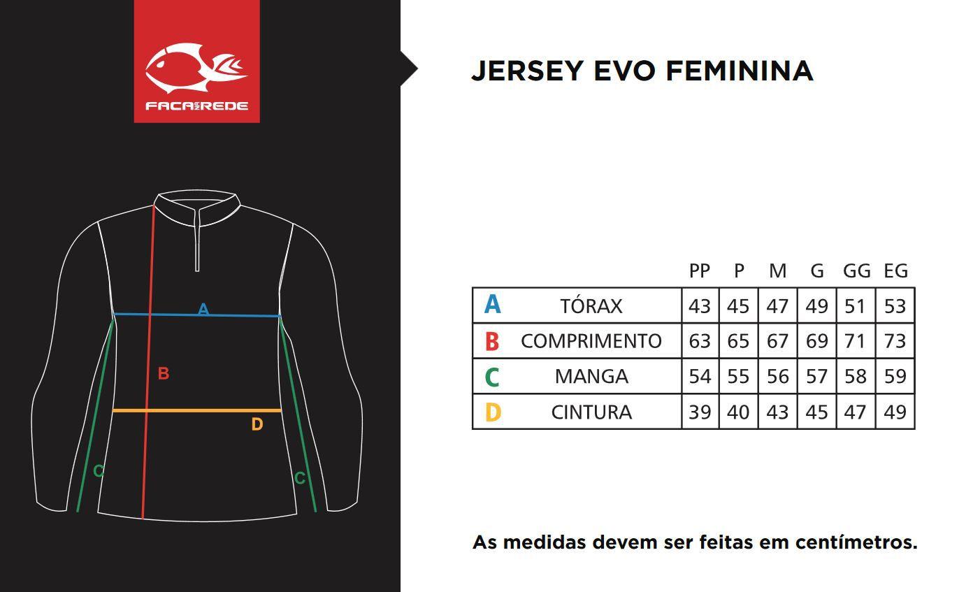 Camiseta de Pesca Feminina Faca na Rede EVO Girl Tucunaré Azul  - Life Pesca - Sua loja de Pesca, Camping e Lazer