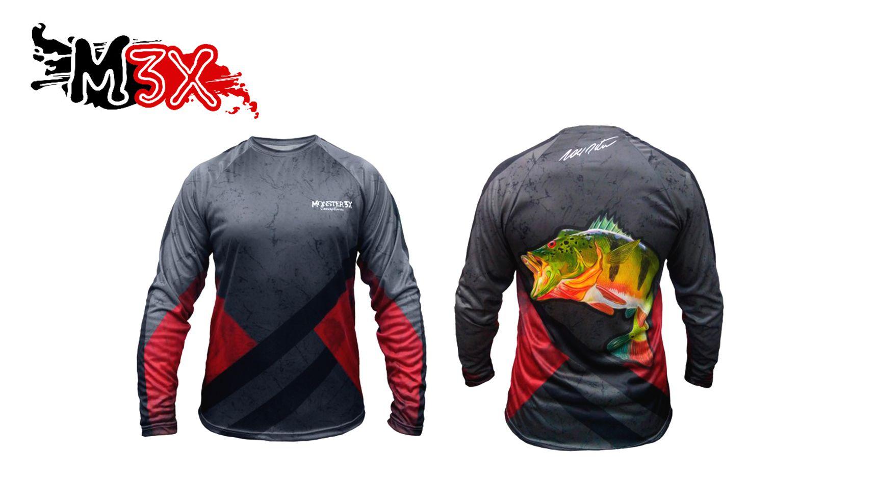 Camiseta de Pesca Joel Datena 01 - Monster 3X  - Life Pesca - Sua loja de Pesca, Camping e Lazer