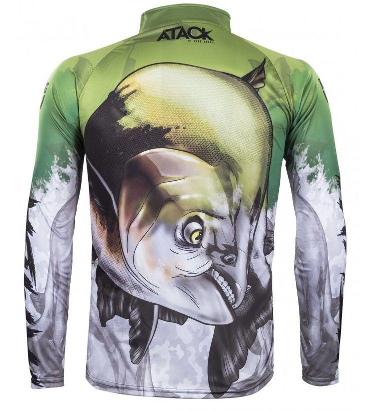 Camiseta De Pesca King Proteção Solar Uv Atack 05 - Tamba  - Life Pesca - Sua loja de Pesca, Camping e Lazer