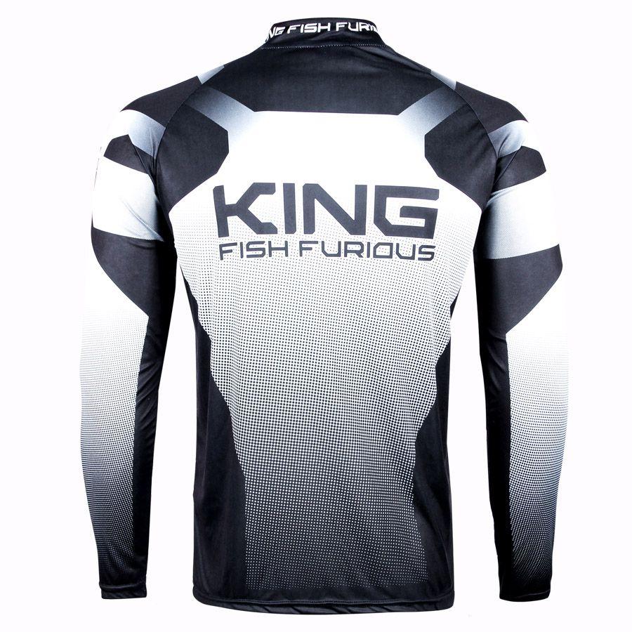 Camiseta De Pesca King Proteção Solar Uv KFF50 - King  - Life Pesca - Sua loja de Pesca, Camping e Lazer