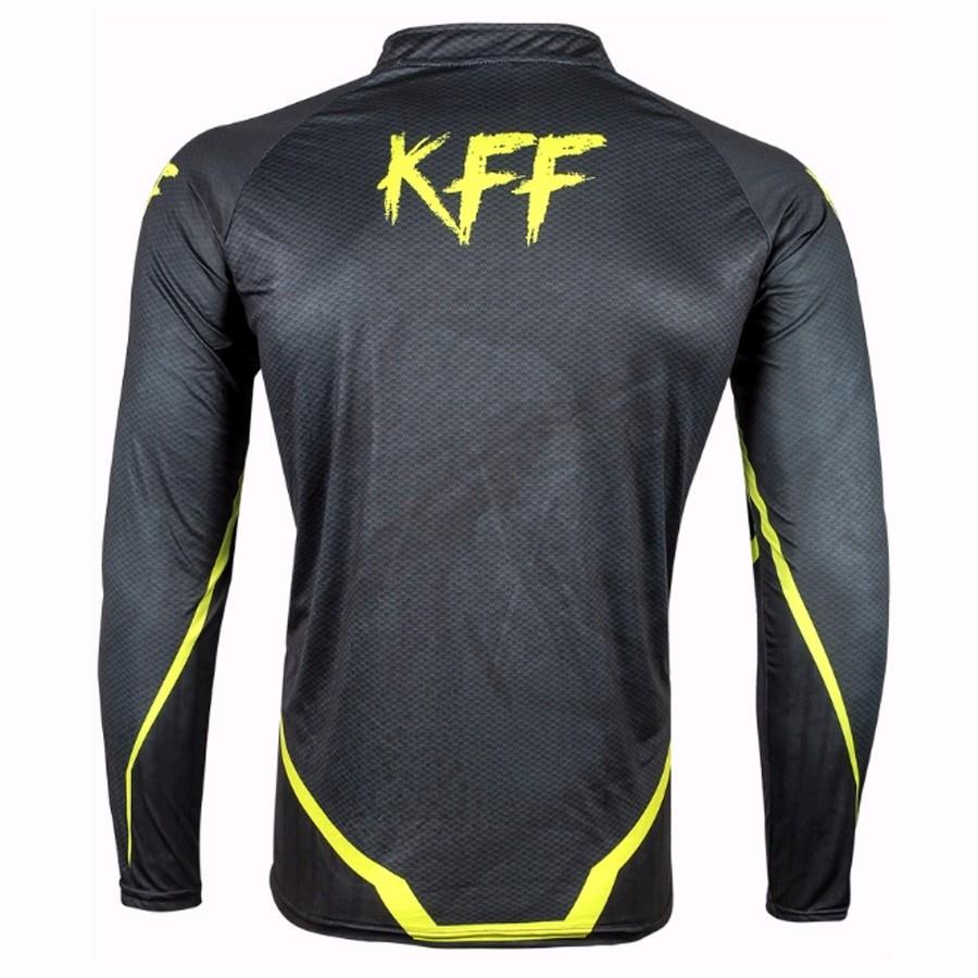 Camiseta De Pesca King Proteção Solar Uv KFF53 - Preta  - Life Pesca - Sua loja de Pesca, Camping e Lazer