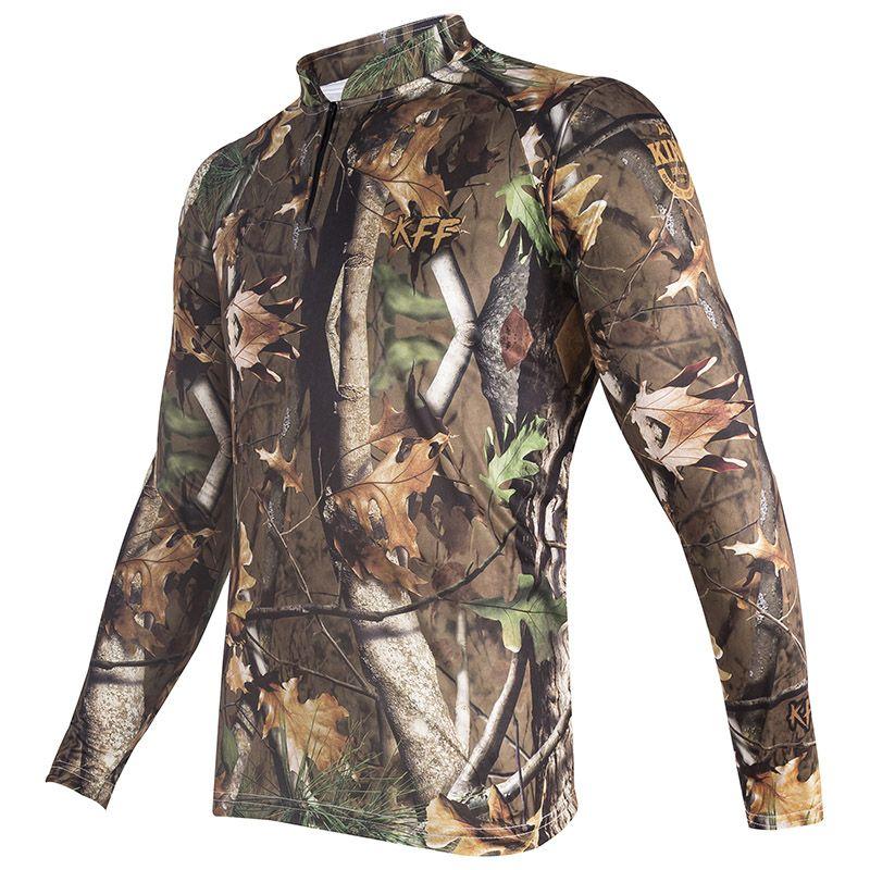 Camiseta De Pesca King Proteção Solar Uv KFF69 - Foliage  - Life Pesca - Sua loja de Pesca, Camping e Lazer
