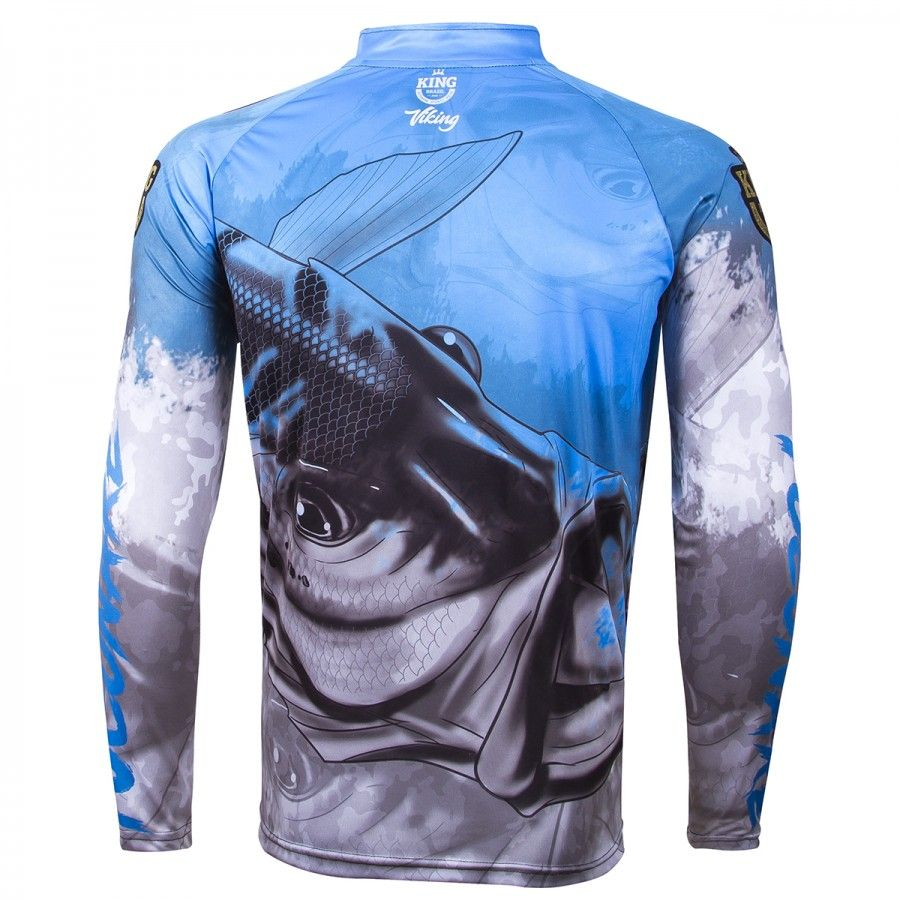 Camiseta De Pesca King Proteção Solar Uv Viking 06 - Tucunaré  - Life Pesca - Sua loja de Pesca, Camping e Lazer
