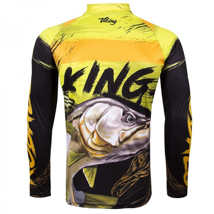 Camiseta De Pesca King Proteção Solar Uv Viking 13 - Robalo  - Life Pesca - Sua loja de Pesca, Camping e Lazer