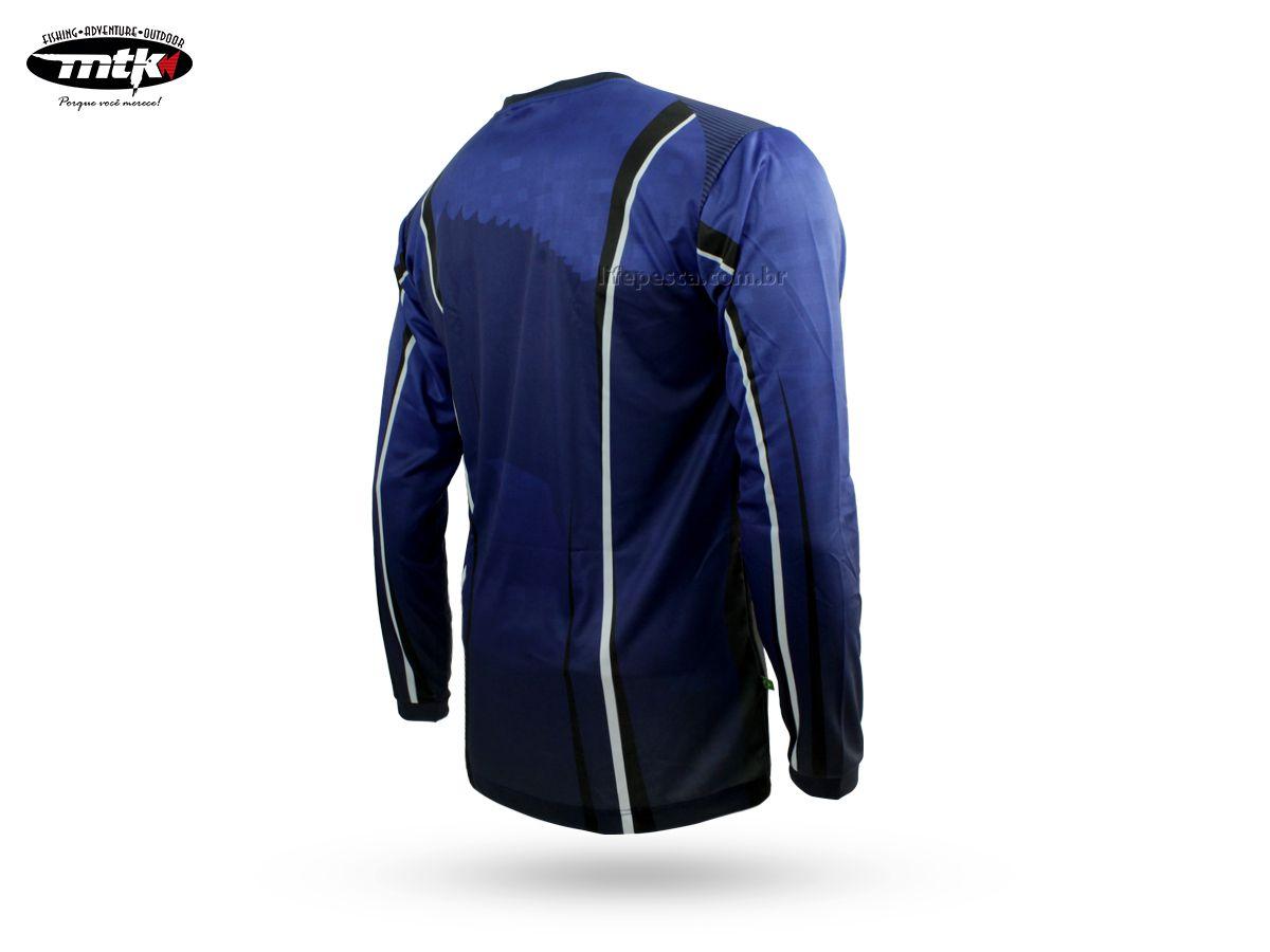 Camiseta De Pesca MTK Atack V - Proteção Solar Uv - Basic  - Life Pesca - Sua loja de Pesca, Camping e Lazer